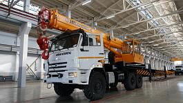 Автокран Ивановец 16 тонн шасси Камаз
